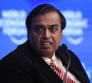 Mukesh Ambani is now the world's 4th richest person
