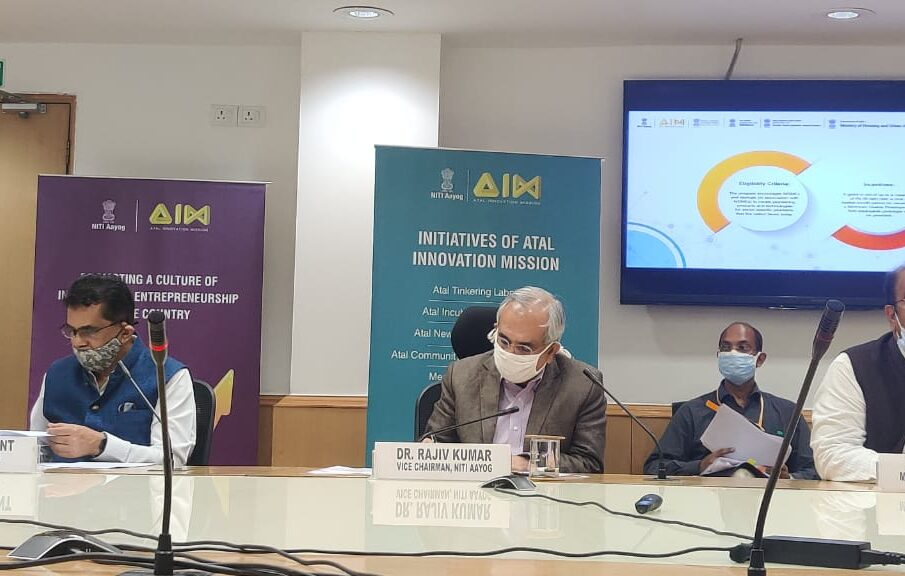 Govt Launches 15 Challenges For Indian Startups And MSMEs To Solve For A Grant Of Rs 50 Lakh Each