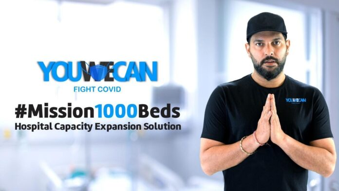 Yuvraj Singh's YouWeCan to set up 1000 beds for COVID patients; urges startups to join the mission